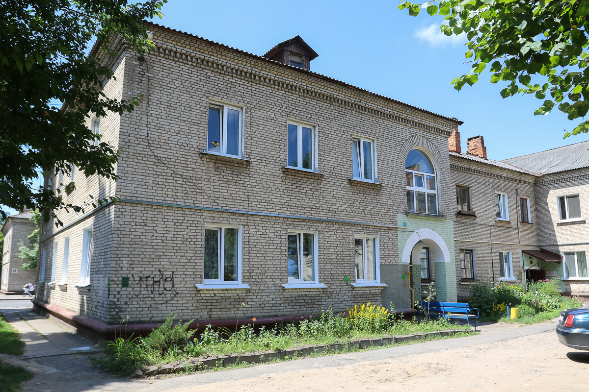 Двор дома №5 на улице Войкова. Фото: Александр ЧЕРНЫЙ