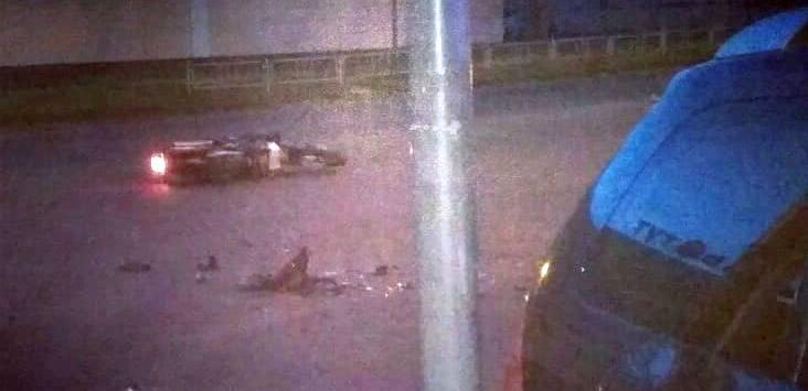 Пассажир «Пежо» пострадал при столкновении автомобиля с мотоциклом в Барановичах