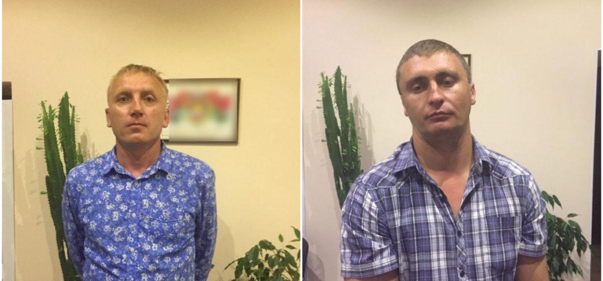 Милиция задержала в Минске двух мужчин, которые грабили банки в России