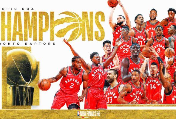 НБА. «Торонто» впервые стал чемпионом, одолев в шестом матче «Голден Стэйт»