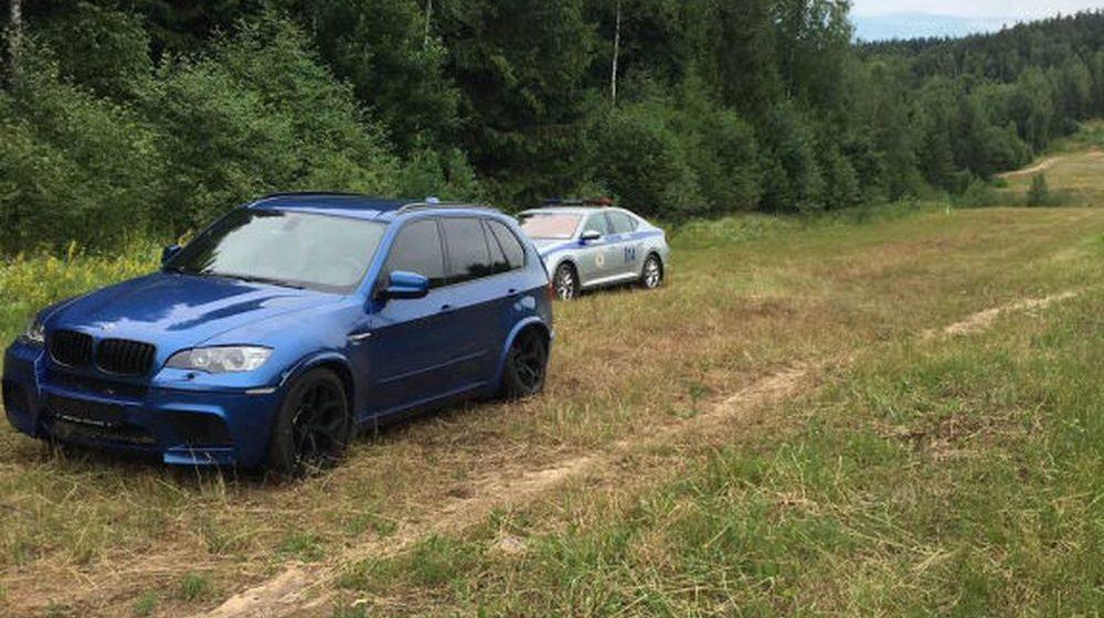 Водитель BMW на скорости 250 км/ч пытался уйти от погони ГАИ в Минской области (видеофакт)