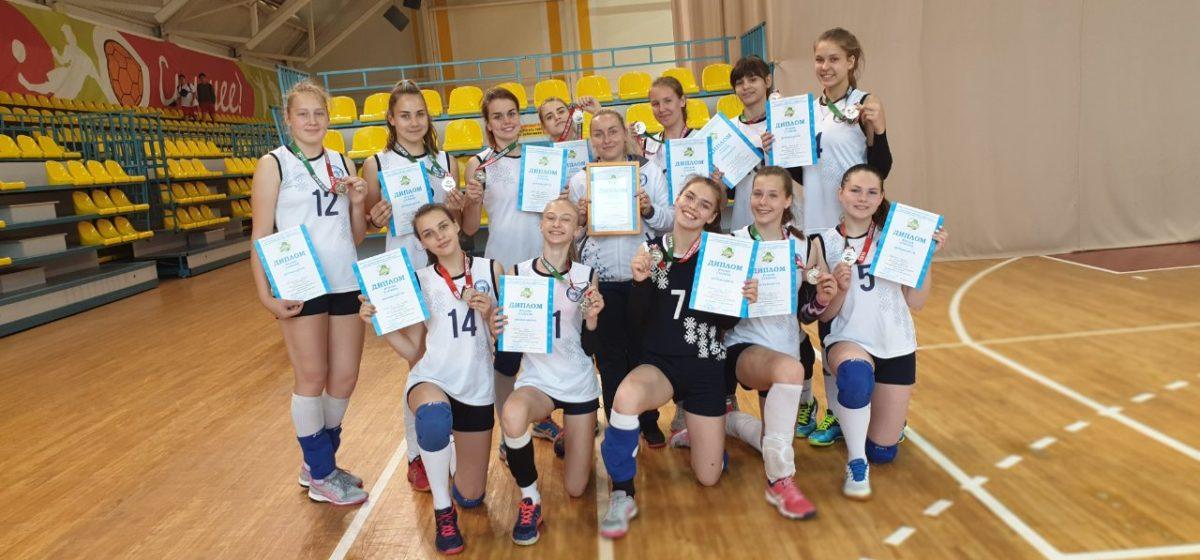 Юные волейболистки Барановичей – серебряные призеры Спартакиады школьников