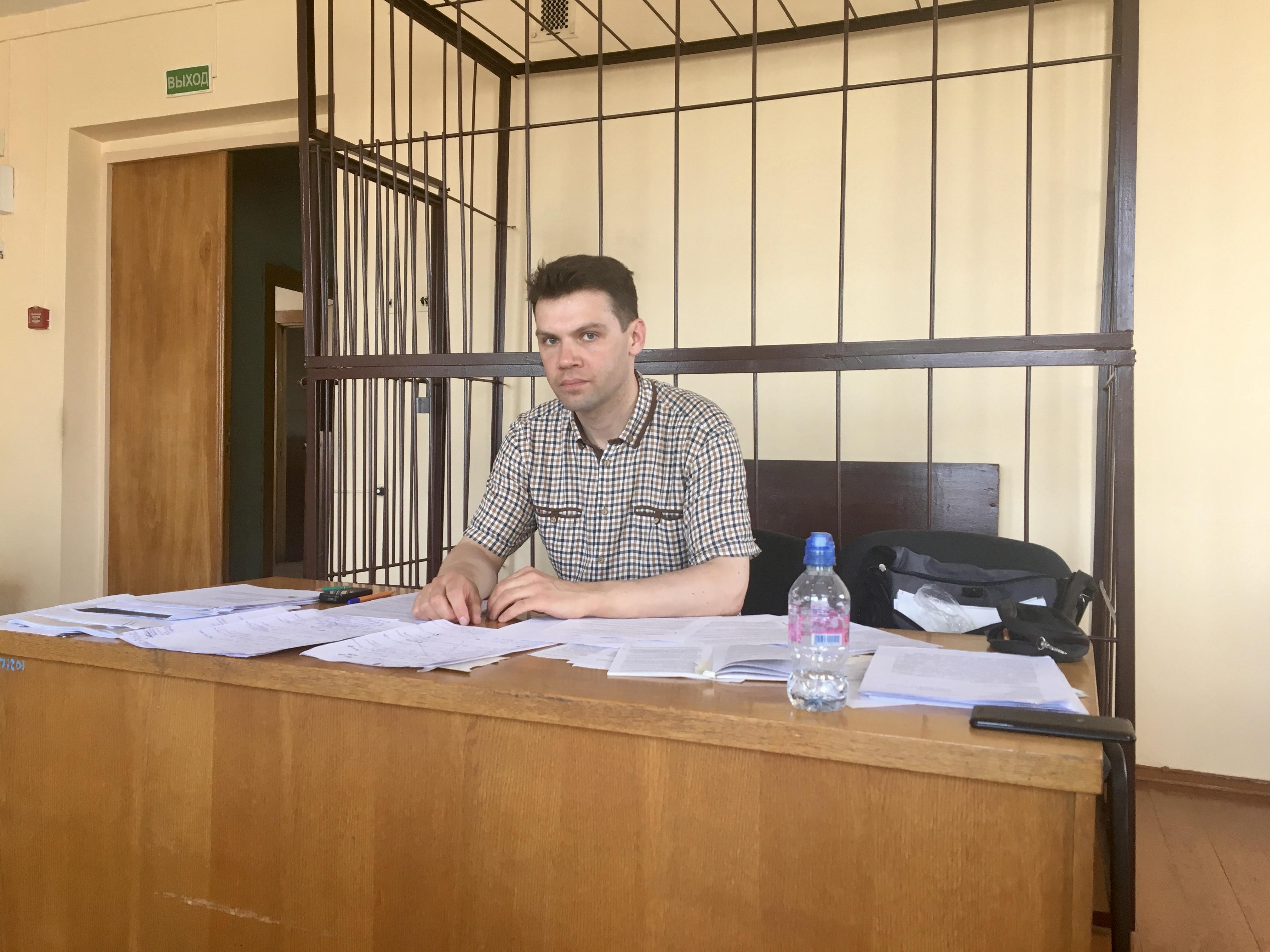 7 июня. Веслав Соколовский после судебного заседания. Фото: Екатерина БУБЕН