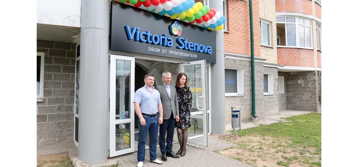 Открылся фирменный магазин обоев Victoria Stenova*