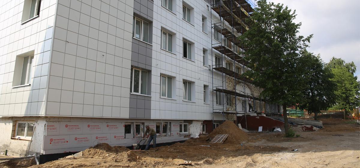 Как строители готовят новое здание суда в Барановичах. Фоторепортаж
