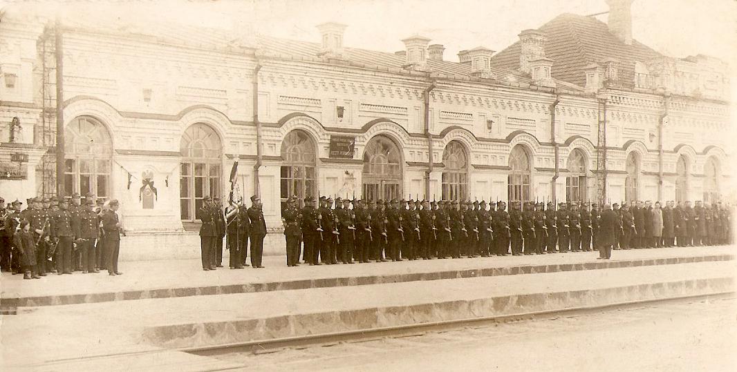 Станция «Барановичи-Полесские» на довоенных снимках из семейного архива железнодорожного чиновника