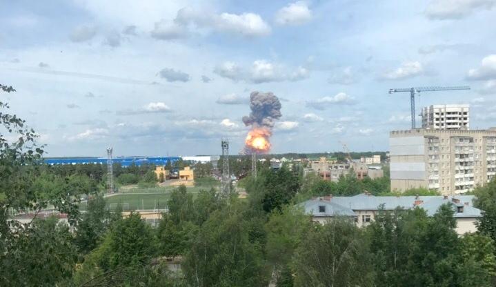 Прогремели взрывы на заводе по производству тротила в российском Дзержинске. Пострадали десятки людей