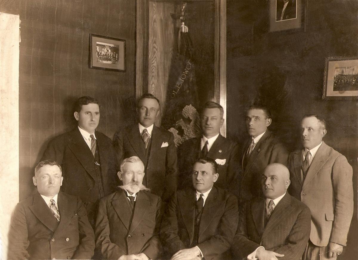 Заседание объединения польских железнодорожников. Фото: архив Людвика ЖУКА