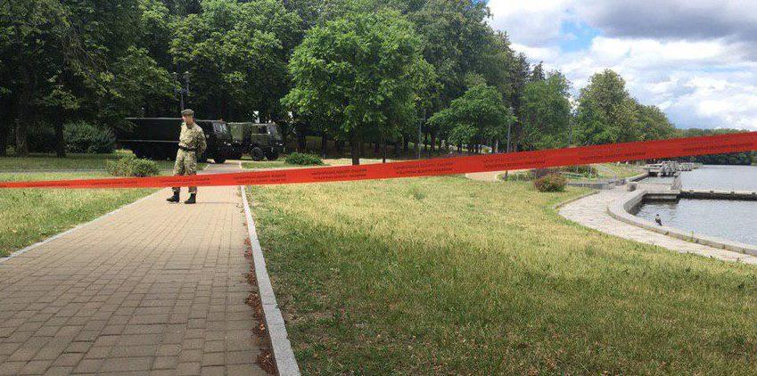 Место ЧП. Фото: Ксения ЕЛЬЯШЕВИЧ, tut.by