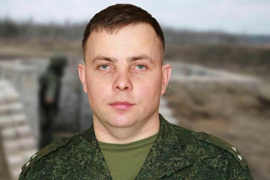 Командир учебной мотострелковой роты 72-го объединённого учебного центра Дмитрий Филипович. Фото: Министерство обороны РБ