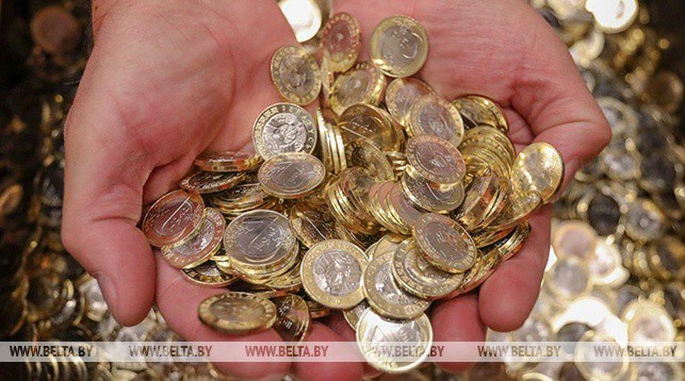 Как чеканят белорусские монеты на Московском монетном дворе