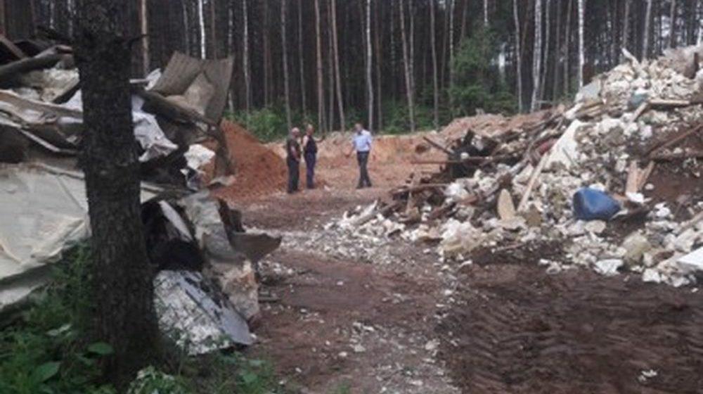 За незаконную свалку в лесу барановичское предприятие оштрафовали на $15000