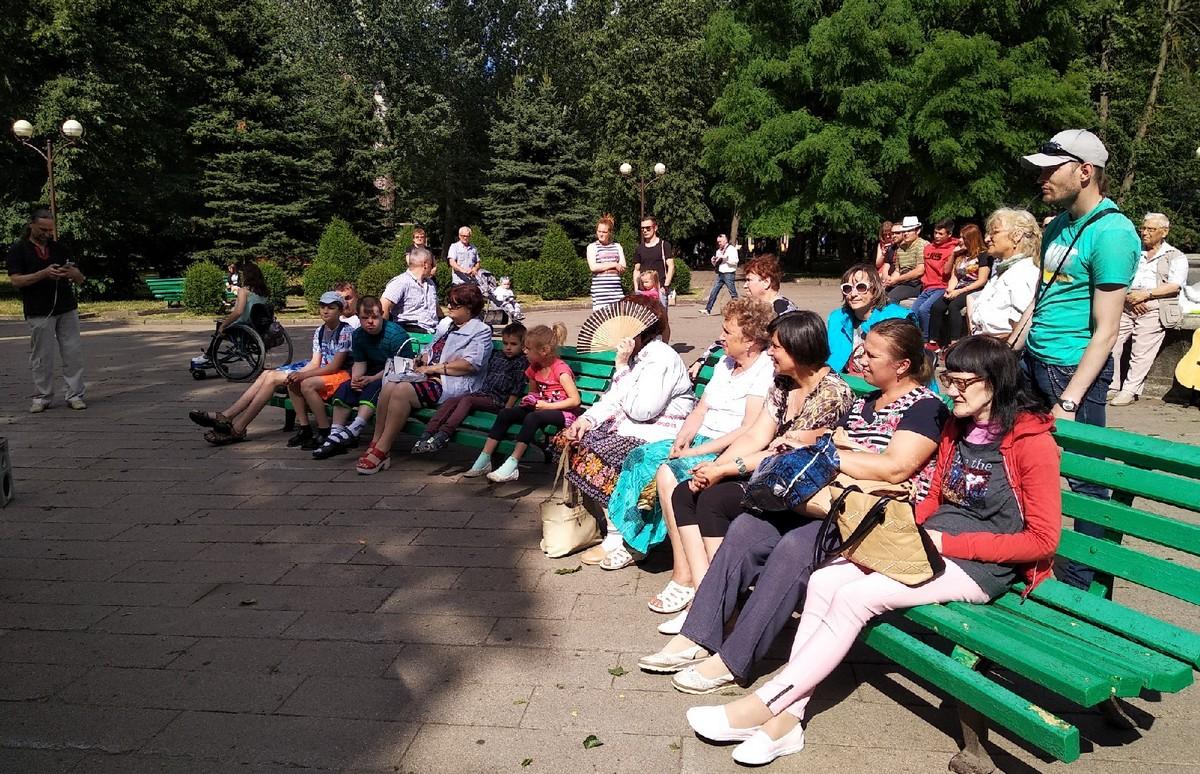 День вышиванки в молодом парке. Фото: Ирина КОМИК