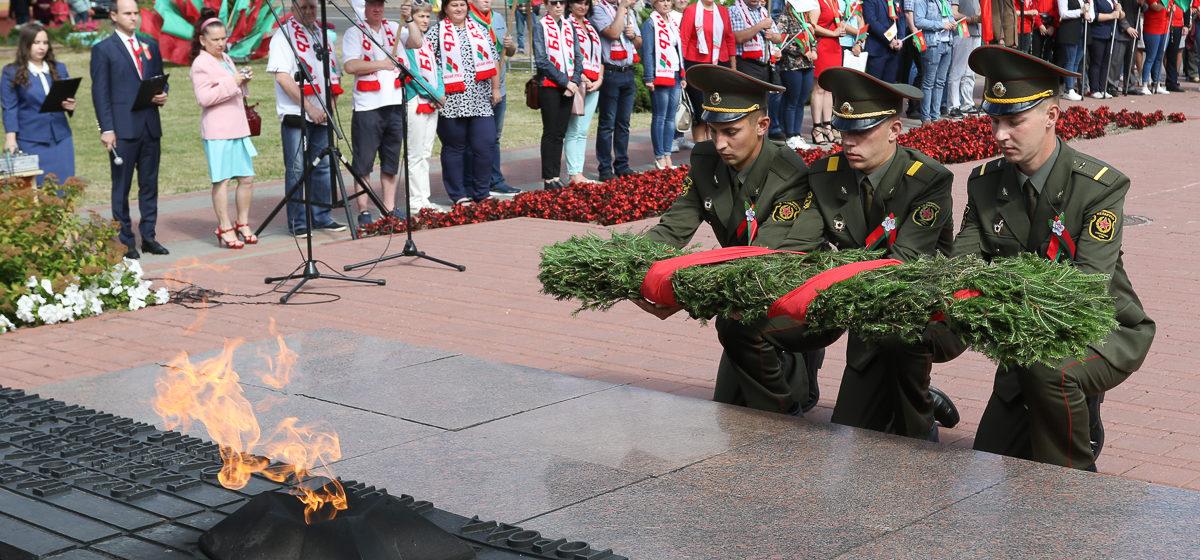 Как Барановичи празднуют День Независимости. Фоторепортаж