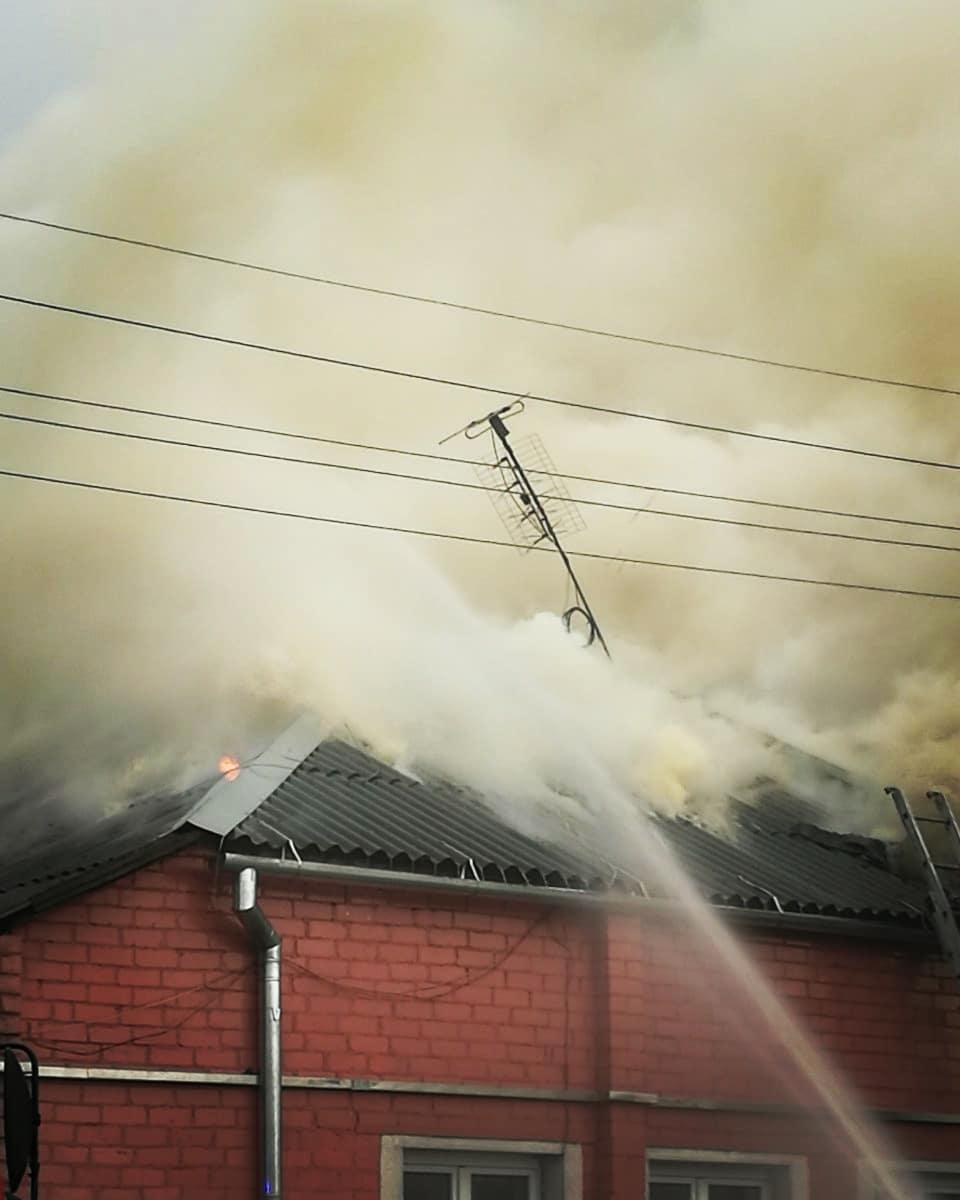 Место возгорания. Фото: instagram.com