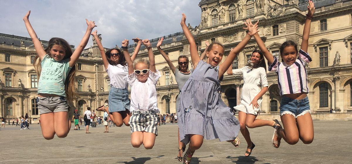 Образцовый ансамбль бального танца «Фиеста» на международном фестивале. Фото: архив «Фиесты»