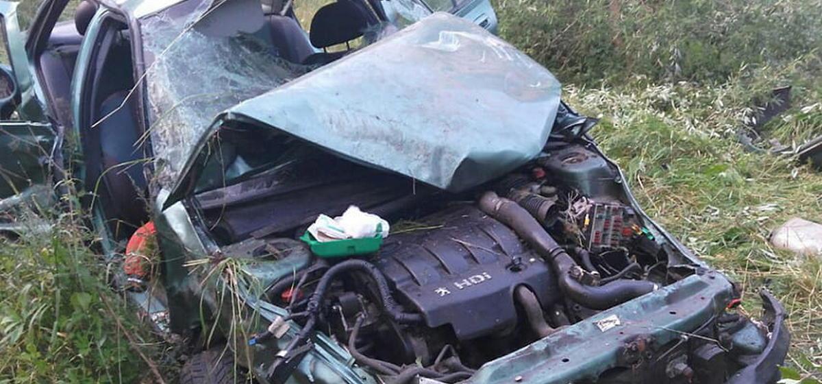 Два человека в реанимации. Компания молодых людей пострадала в ДТП в Витебской области