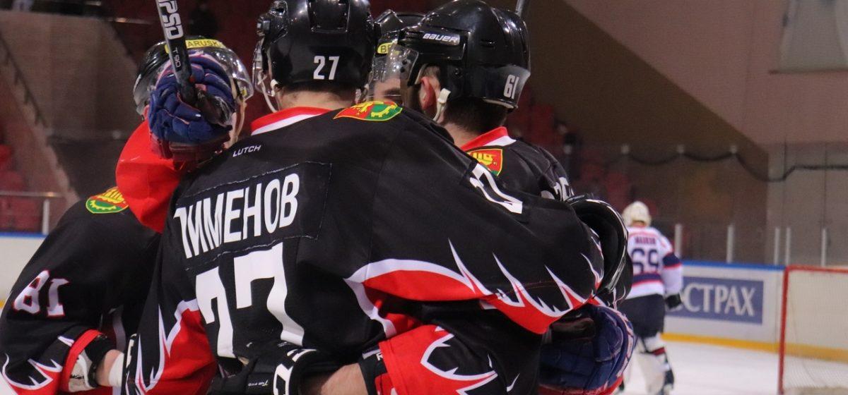 Как хоккеисты «Барановичей» сыграли в первых контрольных матчах нового сезона