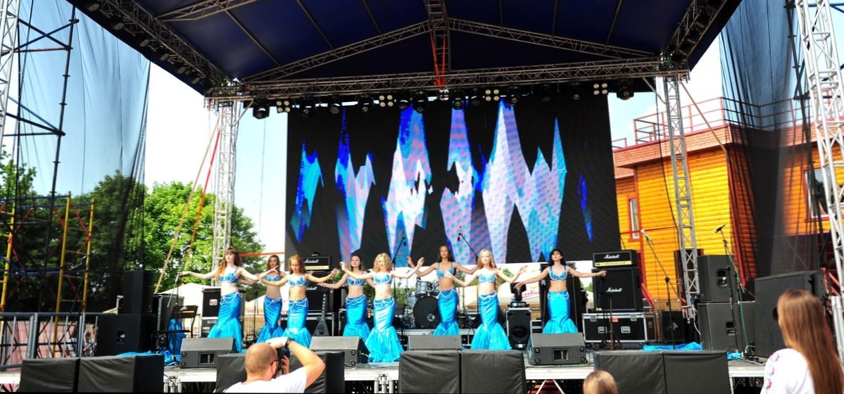 Барановичский танцевальный коллектив «Эмира» выступил на II Европейских играх