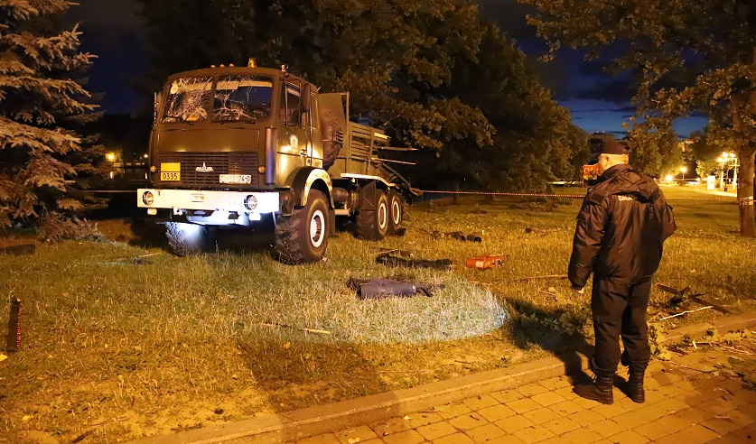 Из-за взрыва фейерверочных изделий в Минске пострадали люди. Фото: https://sk.gov.by