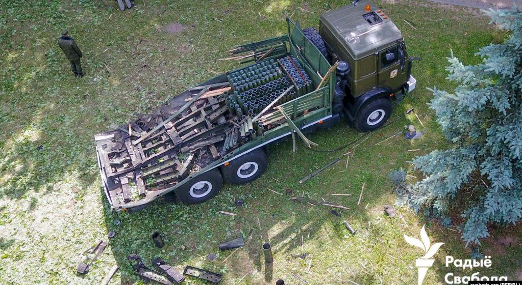 Минобороны назвало основную версию причины взрыва во время салюта в Минске