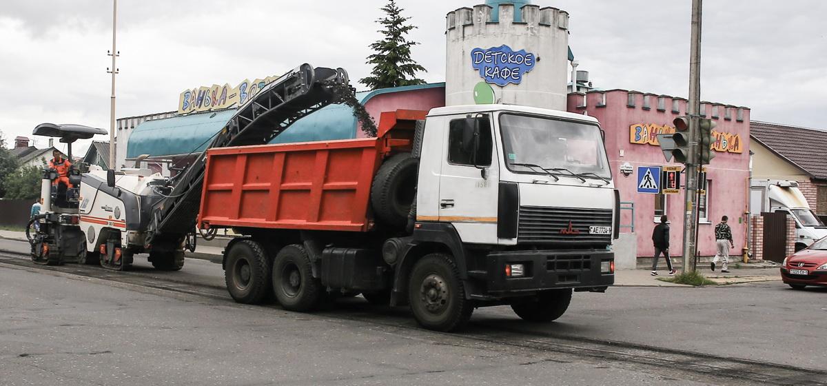 Ремонт улицы Притыцкого. Фото: Татьяна МАЛЕЖ