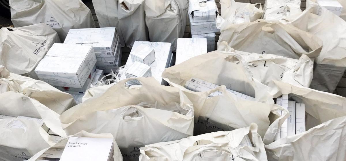 Партию немецкой посуды на 20 тысяч долларов задержали брестские таможенники
