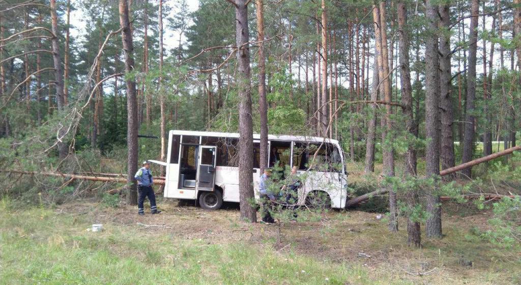 Водитель автобуса умер за рулем в Воложинском районе