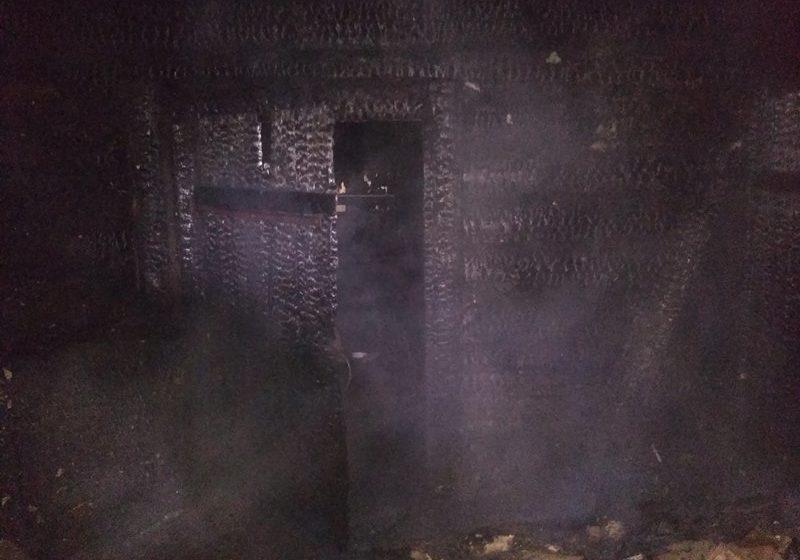 Деревянный дом горел в Барановичском районе