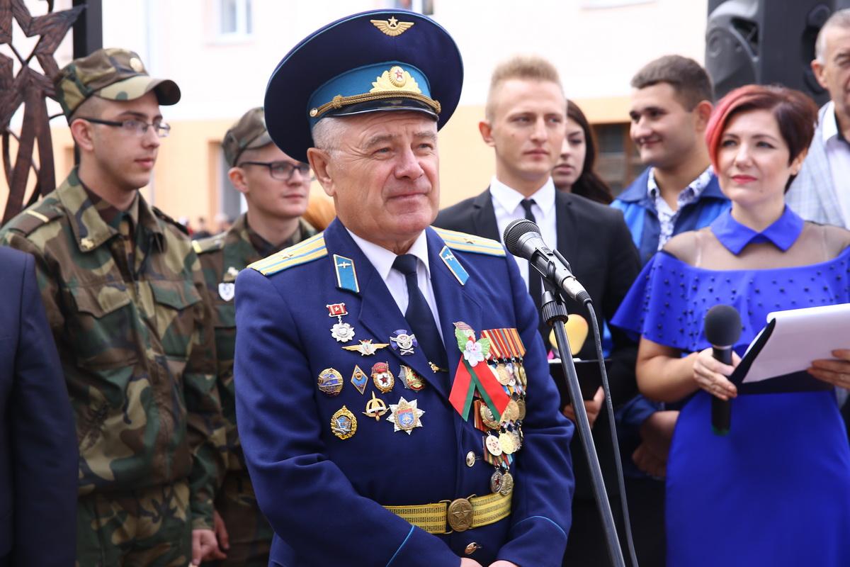 Виктор Кривошлыков, председатель Совета ветеранов 203 гвардейского полка дальней авиации. Фото: Татьяна МАЛЕЖ