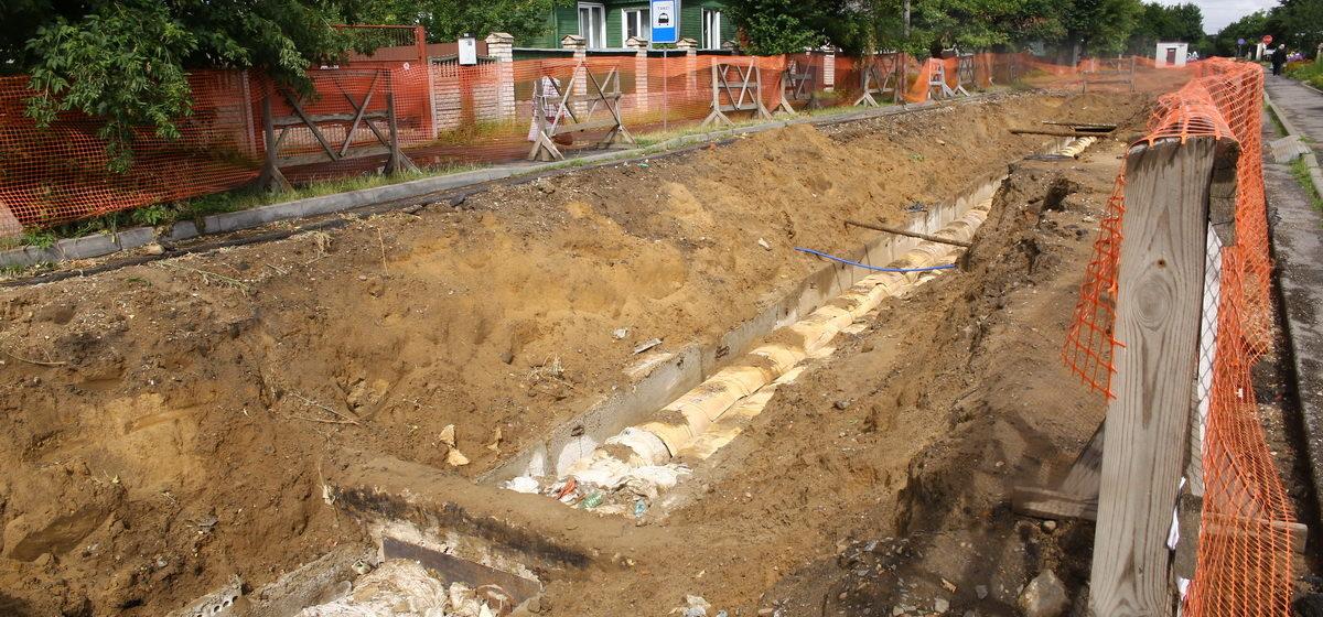 Две улицы в Барановичах закроют для транспорта на время ремонта