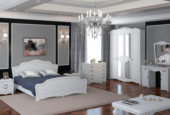 Качественный и доступный спальный гранитур
