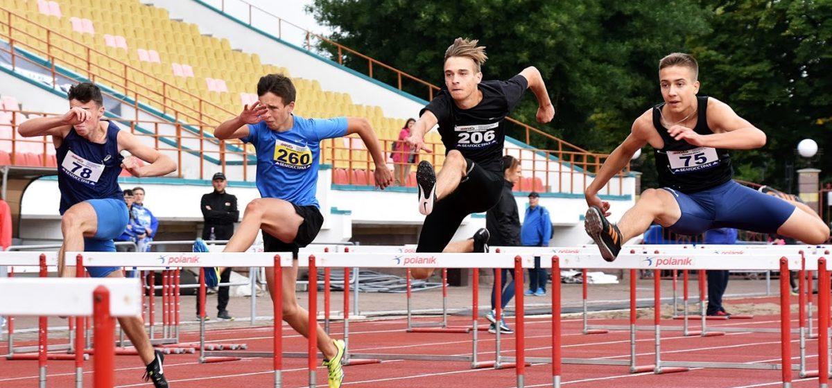 Как юные барановичские легкоатлеты отличились на первенстве Беларуси