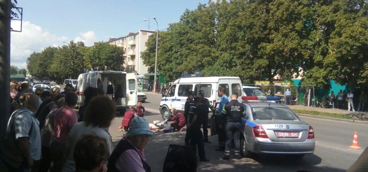 В отношении водителя, сбившего в Барановичах насмерть девочку, возбудили уголовное дело