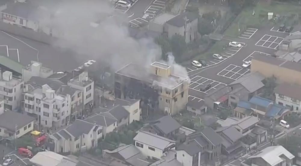 Студию аниме умышленно подожгли в Японии — погибли 10 человек, еще 40 пострадали
