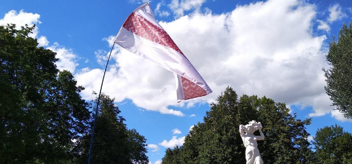 Две акции прошли в День вышиванки в Барановичах. Одну организовали местные власти, вторую – активисты города