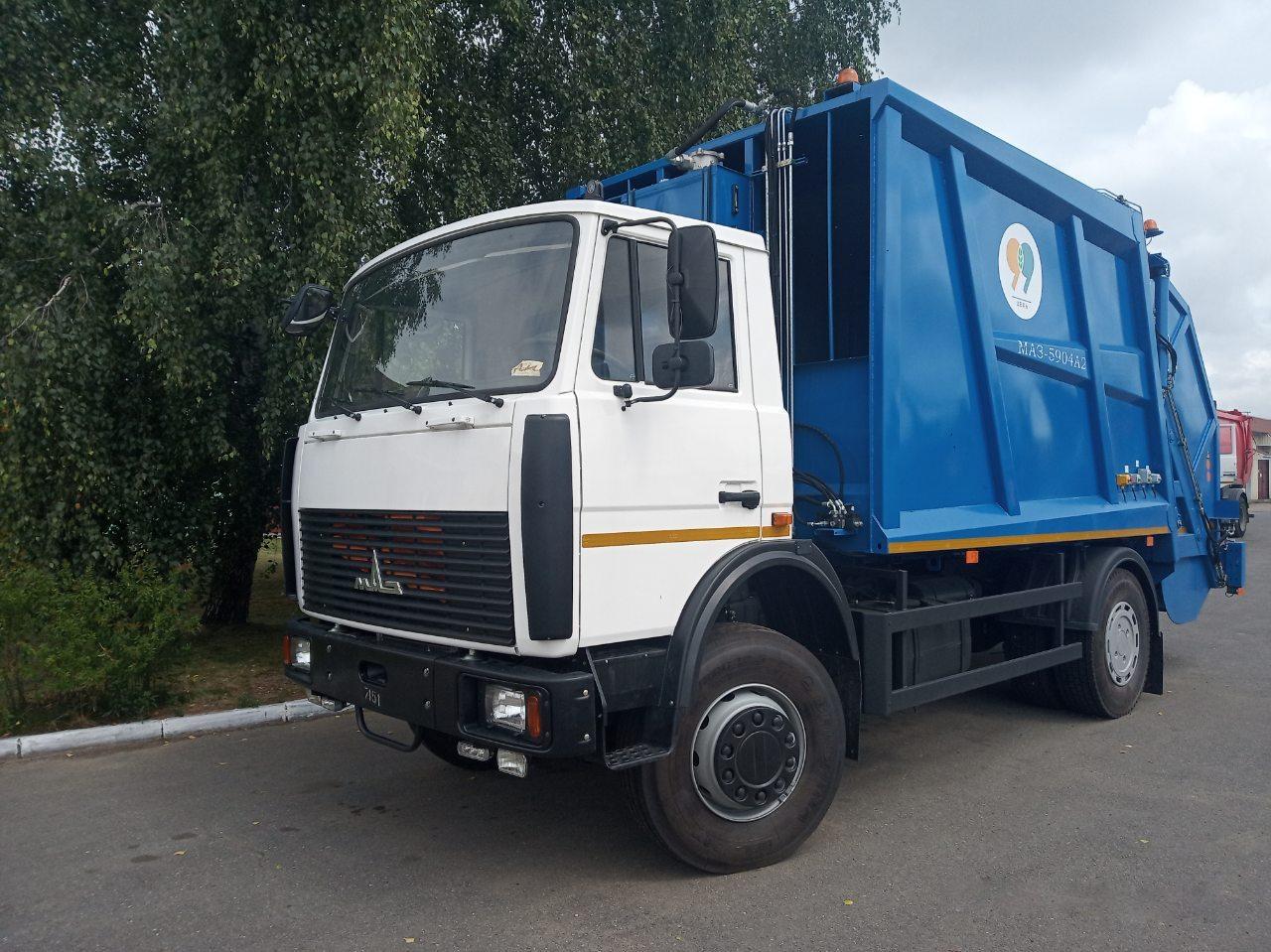 Новый мусоровоз. Фото: https://vk.com/bargorjkh