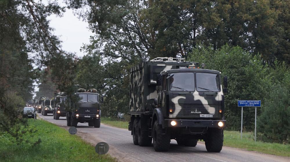 Вниманию автолюбителей! На дорогах Брестчины появятся колонны военной техники