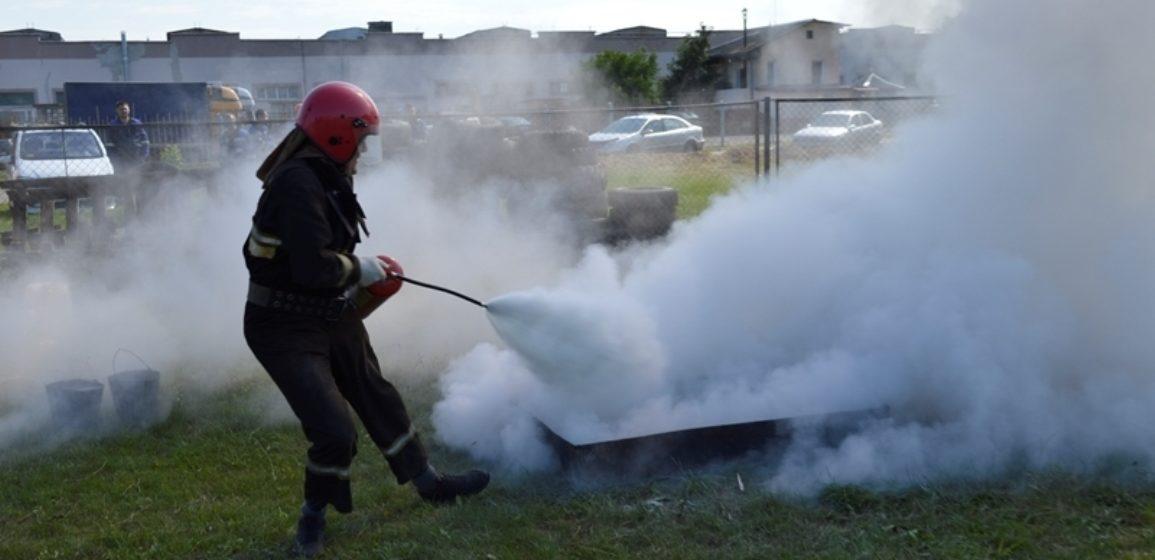 Соревнования по пожарно-спасательному спорту прошли в Барановичах