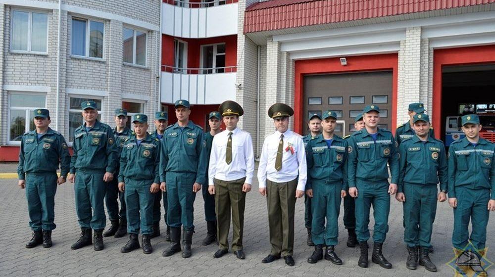 Как в Барановичах прошла церемония принятия присяги в МЧС. Фотофакт