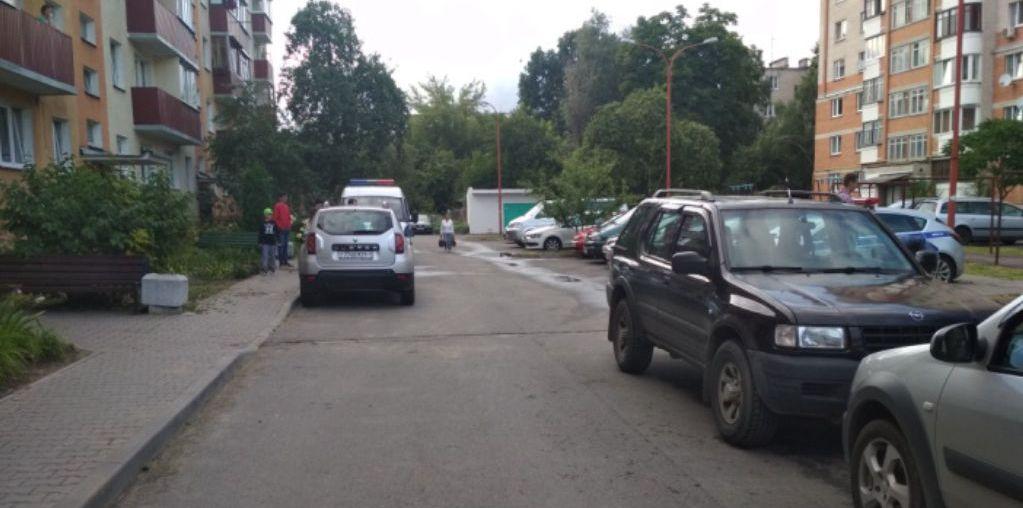 В Бресте легковушка сбила десятилетнюю девочку