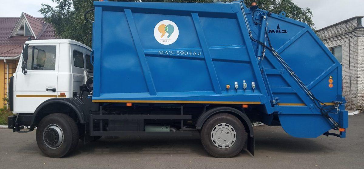 Шесть мусоровозов получило Барановичское городское ЖКХ