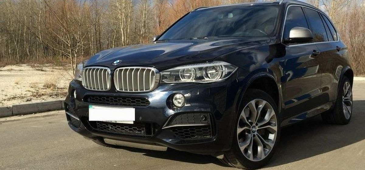 BMW Х5 угнали в Барановичах