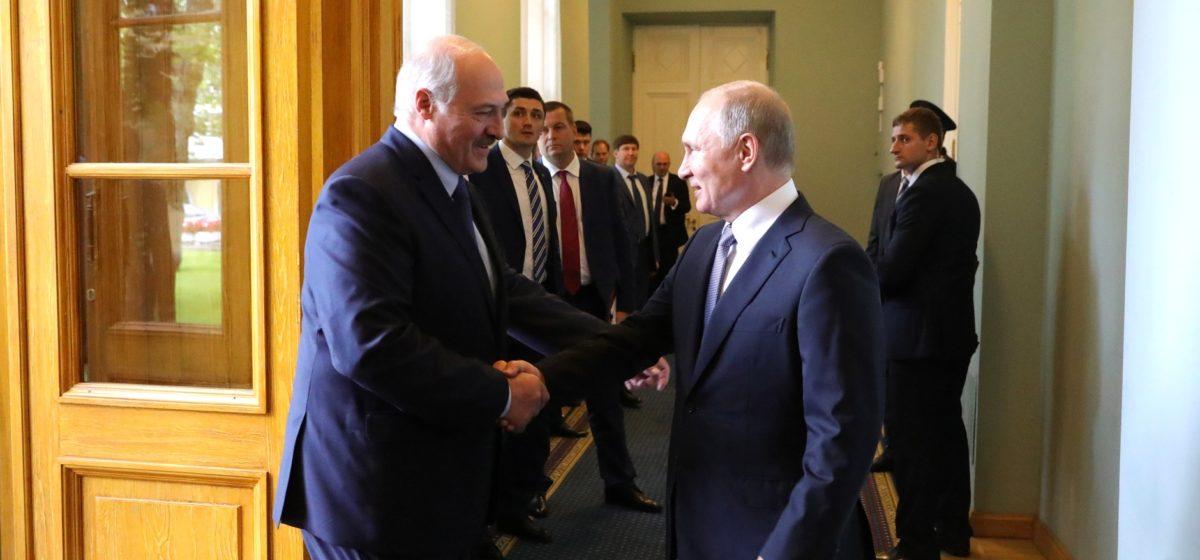 «Пришли к соглашениям». Лукашенко предложил Путину снять спорные вопросы до 8 декабря