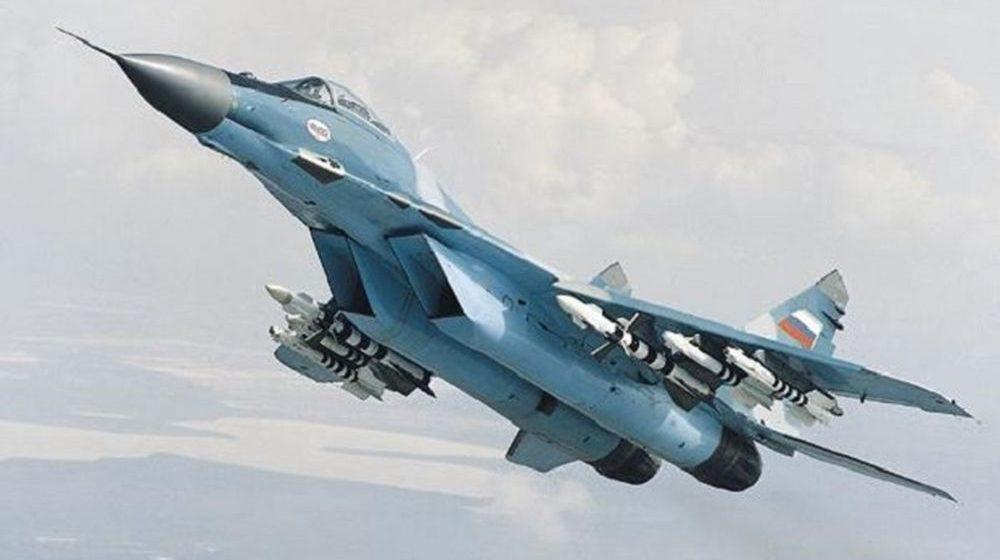 МиГ-29 ВВС Азербайджана упал в Каспийское море, пилот не найден