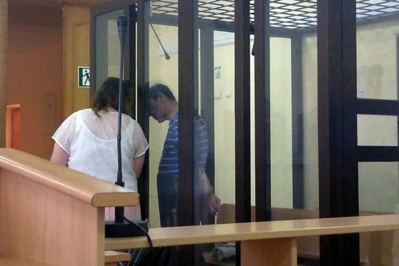 Павлов с адвокатом. Фото: