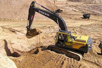 Где применяют строительный песок