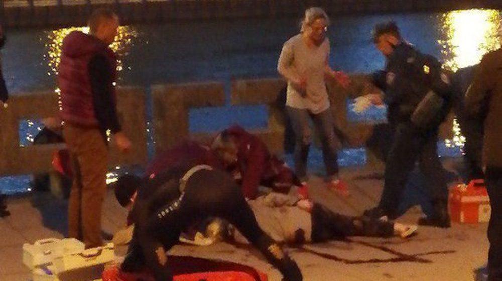 «Зажимайте сонную артерию! Скорую!». На салюте в Минске осколком убило женщину, еще трое зрителей пострадали. Видеофакт
