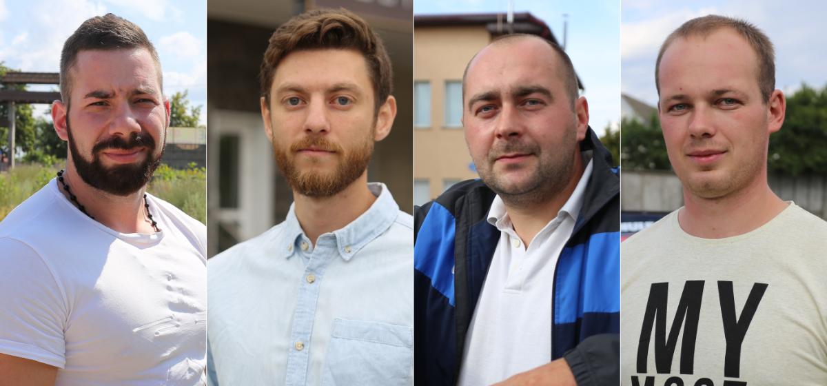 Артем Маркин, Игорь Волох, Александр Гринкевич, Вадим Недбайло