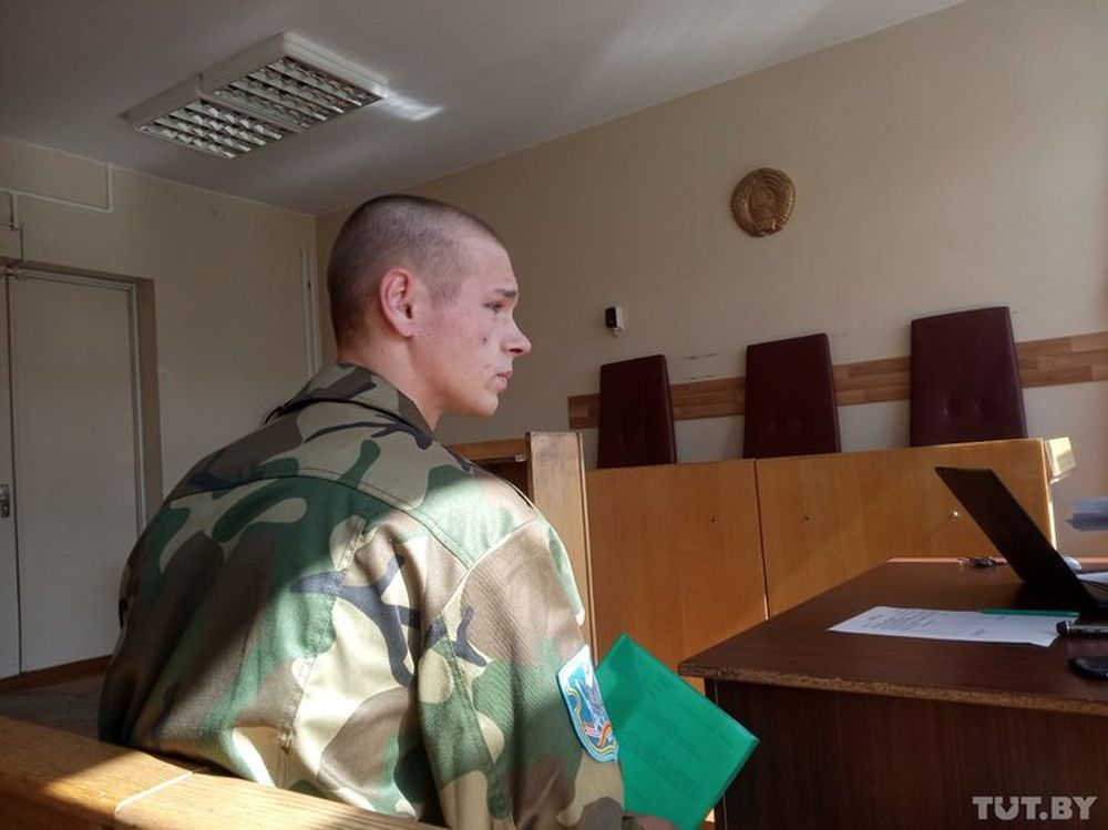 Обвиняемый Николай Атрушкевич Фото: TUT.BY